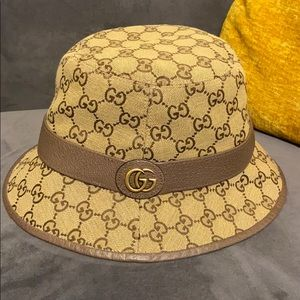 Gicci Hats Brown